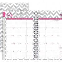 "Dabney Lee for Blue Sky ""Ollie"" Medium Tabbed Weekly/Monthly Wire-O Planner"