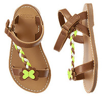Butterfly Braided Sandals