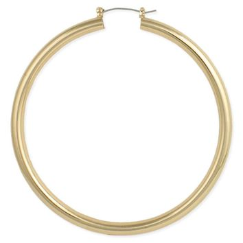 Hollow Oversized Hoops