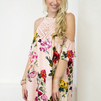 Blooming Lace Dress