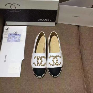 Chanel Fashion Women Fisherman Shoes Flat Shoes