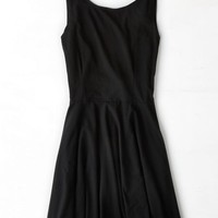 AEO Women's Don't Ask Why V-back Dress