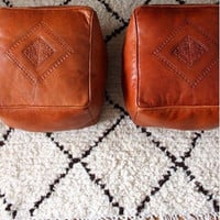 Stunning Square Moroccan Ottomans / Poufs (Regular Size) - Summer Sale