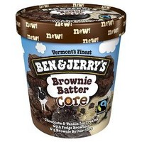 Ben & Jerry's® Brownie Batter Core Ice Cream 16 oz : Target