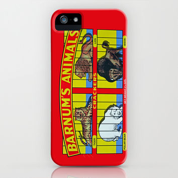 animal crackers iPhone & iPod Case by Shanna Dunn