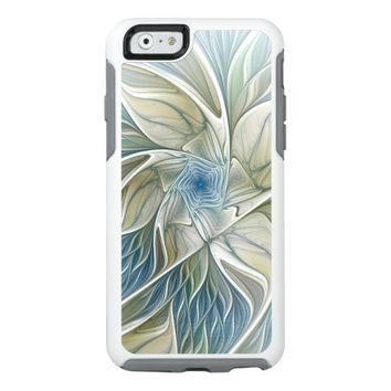 A Floral Dream Pattern Abstract Fractal Art OtterBox iPhone 6/6s Case