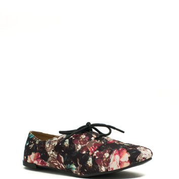 Tomboy Chic Oxford Flats