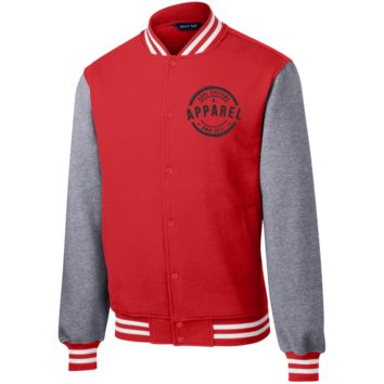 Kool Customs & Apparel Embroider Sport-Tek Fleece Letterman Jacket