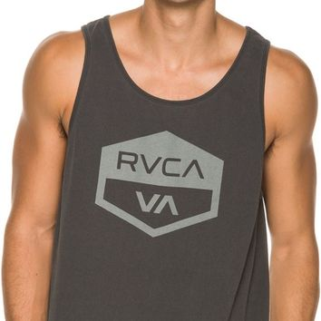 RVCA HEX BADGE TANK