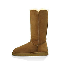 Ugg Australia Womens Suede Lined Mid-Calf Boots