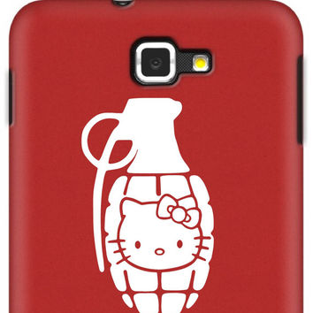 Hello Kitty Grenade Macbook car window iPad Car Notebook Decal Sticker 4""