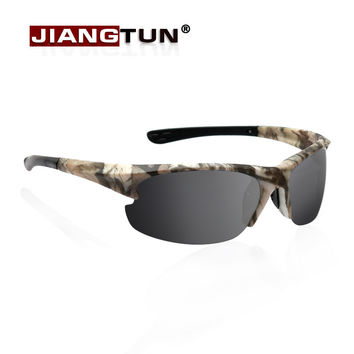 New Polarized Sunglasses Men Designer Outdoor Fishing Driving Glasses Rubber Legs