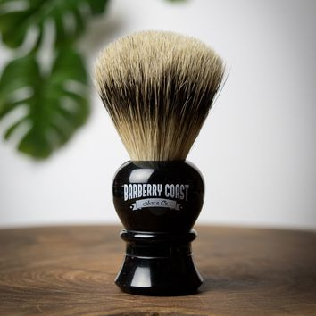 The Majestic Super Badger Shave Brush - Same Day Shipping