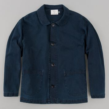 "Chore Coat, ""Hand-Me-Down"" Indigo Plus"