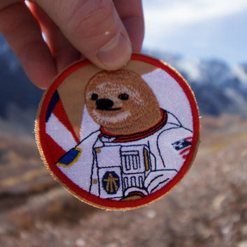 Astrosloth Patch (Free Shipping US) - (Dollar off this week 11/30 - 12/06)