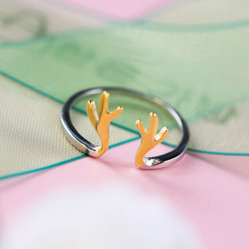 New Arrival Gift Stylish Jewelry Shiny Korean Rabbit Simple Design Ring [6586129095]