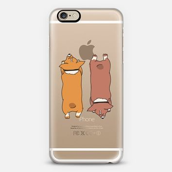 Corgis Sploot! iPhone 6 case by eugeniaclara | Casetify