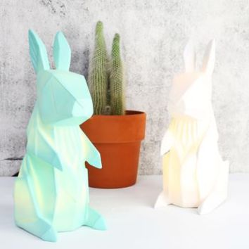Disaster Designs Origami Rabbit Lamp
