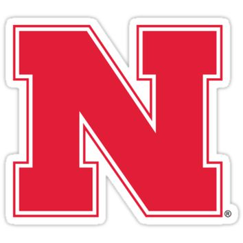 'nebraska logo' Sticker by sb1738