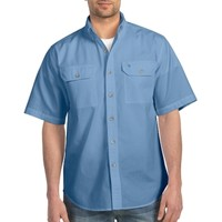 Carhartt | Men's Fort Solid Short Sleeve Shirt | Shirts | Clemens Uniform | S200