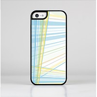 The Bright Blue and Yellow Lines Skin-Sert Case for the Apple iPhone 5c