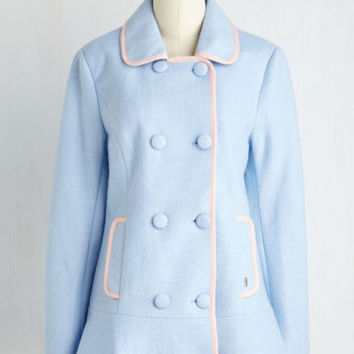 60s Long Long Sleeve Double Breasted Cherish the Thought Coat