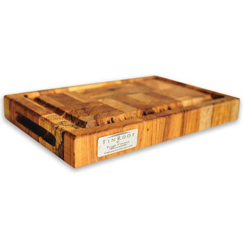 Tin Roof Forest Home Cutting Board