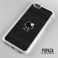 Hello Kitty Logo Black iPhone 6 Case Cover