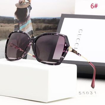 GUCCI New Fashion Polarized More Color Women Travel Sunscreen Glasses Eyeglasses