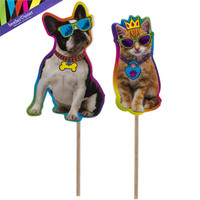 Party Animal Cupcake Toppers | Hobby Lobby