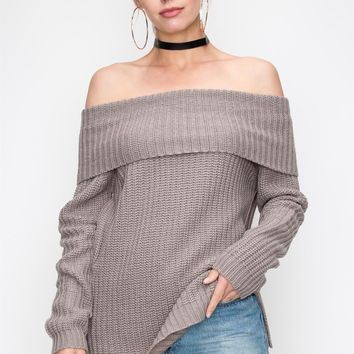 Anything For You Sweater - Grey