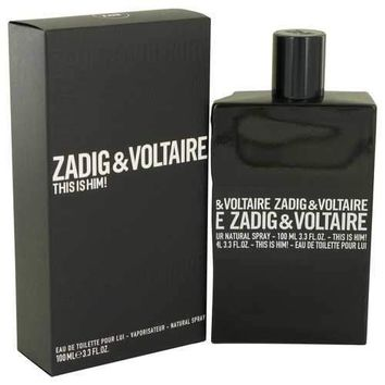 This is Him by Zadig & Voltaire Eau De Toilette Spray 3.4 oz (Men)