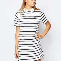Fred Perry Striped Polo Dress