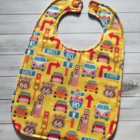 Route 66 Baby Bib - One size fits infant-toddler
