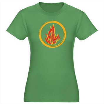 Dauntless Fire - Divergent T-Shirt on CafePress.com