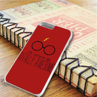 Harry Pootter Quote Harry Potter Glasses And Scar iPhone 6 Plus   iPhone 6S Plus Case