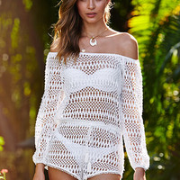 Long-sleeve Cover-up Romper - Victoria's Secret