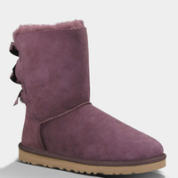 Ugg Bailey Bow Womens Boots Deep Bordeaux  In Sizes