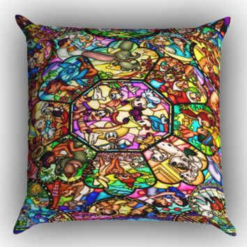 Police girls X1519 Zippered Pillows  Covers 16x16, 18x18, 20x20 Inches