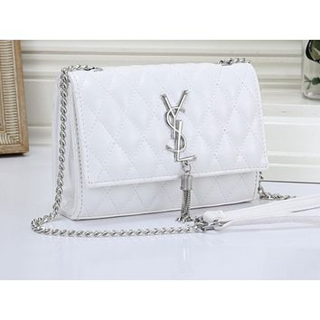 YSL Hot Selling Fashion Women's Pure Color Single Shoulder Bag
