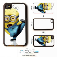 NEW Despicable Me 17 Karate nSert iPhone 4 4s 5 by DesignSkinz