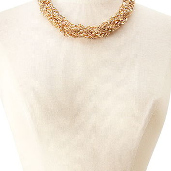 Twist Mixed Chain Necklace