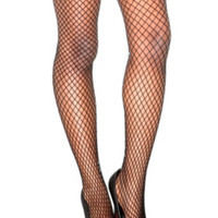 Black Medium Fishnet Tights