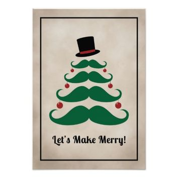 Let's Make Merry! Christmas Party Invitation
