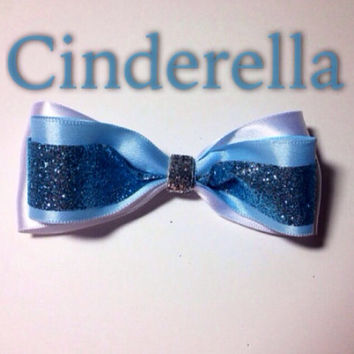 Cinderella ball gown inspired bow