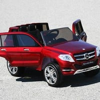 New Licensed High Doors Mercedes Benz GLK 300 AMG Kids Ride On Car With RC