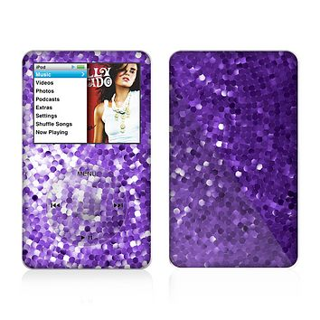 The Purple Shaded Sequence Skin For The Apple iPod Classic