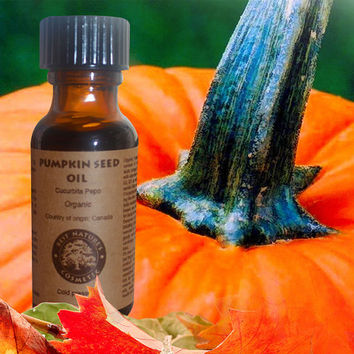 Pumpkin Seed Oil (organic, undiluted, cold pressed, unrefined)