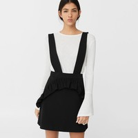Ruffled pinafore dress - Women | OUTLET USA
