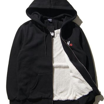 Padded Stussy Thicken Cotton Hoodies [9391649671]